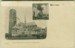 BELGIUM - MALINES / MECHELEN - EGLISE SAINT ROMBAUT - CATHEDRALE  - 1900 (BG5722) - Malines