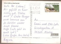 Germany & Marcofilia, Schones Bad Hersfeld, Fulda  To Mucke 2012 (7668) - BRD