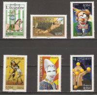 Célébrités N° 4216 / 4221  ** Neuf Sans Charnières Le Cirque - Francia