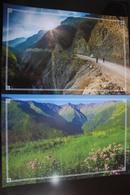Russia. Chechnya.  Chechen Republic  - Modern Postcard - 2 PCs Lot - Tsjetsjenië