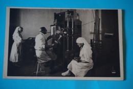 CPA 77 METIERS SANTE Sanatorium NEUFMOUTIERS-EN-BRIE Salle RADIOLOGIE MEDECIN INFIRMIERE RARE PLAN Canton FONTENAY 1920 - France