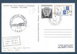 TAAF - Terre Australes Et Antarctiques Français - YT N° 157 Et 163 - Dumont D'Urville Terre Adelie - Manchots - 1994 - French Southern And Antarctic Territories (TAAF)