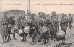 MILITARIA TIRAILLEURS MAROCAINS  17-0133 - Guerra 1914-18