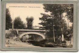 CPA - SAINT-GEORGES-HAUTEVILLE (42) - Aspect Du Pont Sur La Curaize à L'entrée Du Bourg Au Début Du Siècle - Other Municipalities