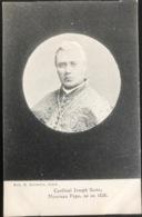 (1743) Cardinal Joseph Sarto - Nouveau Pape - Né En 1838 - Personnages Historiques