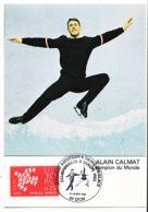 Anc043 LYON 69-Rhone Championnats EUROPE Patinage Artistique Dance Glace 1982 Alain CALMAT Champion MONDE Cpasport - Lyon