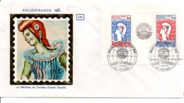 FDC 1982 BLOC PHILEXFRANCE 82 - DESSIN DE DECARIS COTE 30 EUROS - FDC