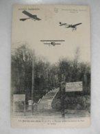 JUVISY SUR ORGE - Voyage Aérien Au-dessus Du Parc De Juvisy (avec Avions) - Juvisy-sur-Orge