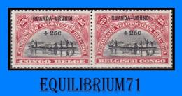 77/78A** - Campagnes Coloniales / Koloniale Veldtochten - RUANDA URUNDI - 1924-44: Mint/hinged