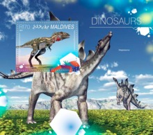Maldives  2014 Dinosaurs - Maldives (1965-...)