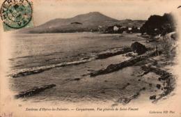 83 - Environs D'Hyères-les-Palmiers - CARQUEIRANNE - Vue Générale De Saint-Vincent - Carqueiranne