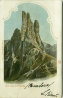TORRI DEL VAJOLET / DIE VAJOLETTHURME ( BOLZANO ) LITHO. L. FRNAZL & CO. 1900s  (BG5724) - Bolzano (Bozen)