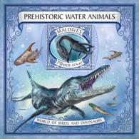 Maldives  2017 Prehistoric Water Animals - Maldives (1965-...)