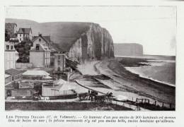 1909 - Iconographie Documentaire - Saint-Martin-aux-Buneaux (Seine-Maritime) - Les-Petites-Dalles - FRANCO DE PORT - Vieux Papiers