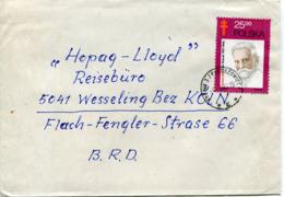 Polonia (1983) - Cartolina Per La Germania - 1944-.... Repubblica