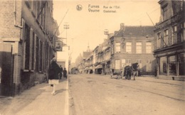 België Veurne Furnes  Ooststraat   Rue De L' Est Confections  Tram Paardenkar    M 1376 - Veurne