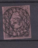 König Johann I 1 Ngr. Mit Nummernstempel 23 (= Rochlitz) - Saxony