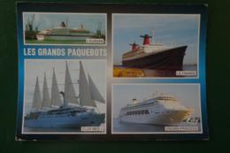 Q )  LES GRANDS PAQUEBOTS EN ESCALE AU HAVRE - Le Havre