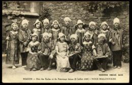 71 MACON Fete Des Ecoles 1928 NOCE MACONNAISE - Macon