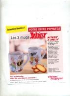 Publicité Vitrine Theme Asterix Obelix - Pubblicitari