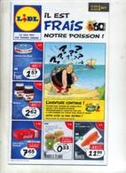 Publicité Lidl Theme Asterix Obelix - Pubblicitari