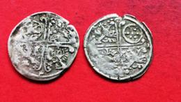 MAINZ 2 Kreuzer 1628 1629 LOT 2 Stück !!! Gemeinschaftsprägung Mainz Hessen Nassau Frankfurt. - [ 1] …-1871: Altdeutschland