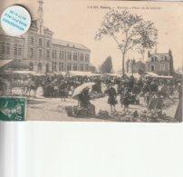 37 - Très Belle Carte Postale Ancienne De  Tours   Marché Place De La Liberté - Tours