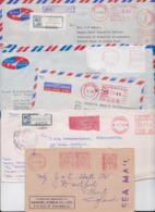 SRI LANKA CEYLAN CEYLON - Beau Lot Varié De 300 Enveloppes En Affranchissement Automatique Machine Stampless Mail Covers - Sri Lanka (Ceylon) (1948-...)