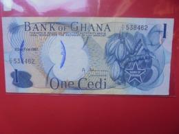 GHANA 1 CEDI 1967 CIRCULER (B.9) - Ghana