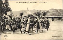 Cp M'Boko Songo Republik Kongo, Danse Indigènes - South Africa