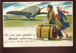 LUXEMBOURG - REMICH - CARTE A SYSTEME - AVION - Remich