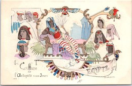 ILLUSTRATEUR - P DUFRESNE - La Coiffure - EGYPTE - Andere Illustrators
