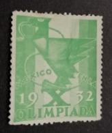 1932 LOS ANGELES OLYMPICS MEXICO OLIMPIADI  OLIMPIQUE   ERINNOFILO  ERINNOPHILIE    Envelope CINDERELLA - Winter 1932: Lake Placid