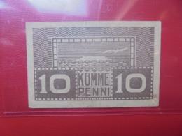 ESTONIE 10 PENNI 1919 CIRCULER (B.9) - Estonia