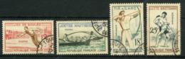 FRANCE   Jeux Traditionnels    N° Y&T  1161 à 1164  (o) - Usados