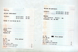 Ticket Transport Lausanne - Europe