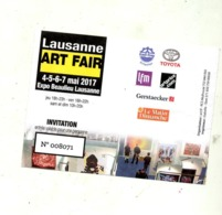 Ticket Entree Foire Lausanne - Tickets - Entradas