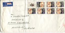 Sud Africa - Busta Per L'Austria - Sud Africa (1961-...)
