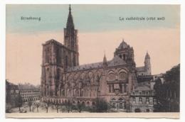 France - Alsace - Strassburg (Strasbourg) - La Cathédrale (côté Sud) - 1919 - Kirchen U. Kathedralen