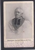 MONSEIGNEUR-MARTINUS-HUBERTUS-RUTTEN-BISSCHOP VAN LUIK-GEISTINGEN-TONGEREN-DRUK.ST-MATERNUS-VERZONDEN-1902-ZIE 2 SCANS - Tongeren