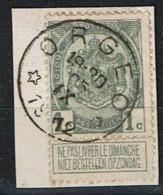 81A  Obl Relais  Orgéo  15 - 1893-1907 Coat Of Arms