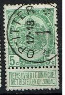 83  Obl Relais  Op-Itter 8 - 1893-1907 Coat Of Arms