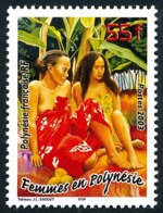 POLYNESIE 2003 - Yv. 683 ** SUP  Faciale= 0,46 EUR - Tableau Femmes En Polynésie  ..Réf.POL24763 - Französisch-Polynesien