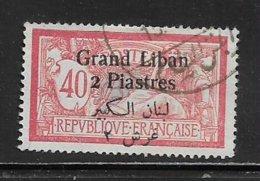 GRAND LIBAN ( GLIB - 30 )   1924  N° YVERT ET TELLIER  N° 31 - Usati