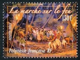 POLYNESIE 2003 - Yv. 694 ** SUP  Faciale= 1,09 EUR - Rituel De Marche Sur Le Feu  ..Réf.POL24768 - Französisch-Polynesien