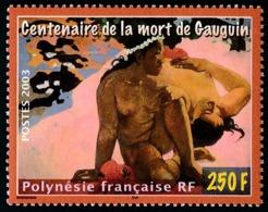 POLYNESIE 2003 - Yv. 696 ** SUP  Faciale= 2,10 EUR - Peintre Paul Gauguin  ..Réf.POL24770 - Polinesia Francese