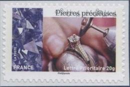 1081a   Pierres Précieuses  Neuf  **  2014  PRO + - Adhésifs (autocollants)
