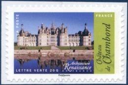 1114A   Château De Chambord  Neuf  **  2015 PRO + - Adhésifs (autocollants)