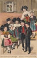 CPA - Souvenir De L'Asace Lorraine ( Carte Gaufrée ) - Altri