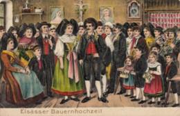 CPA - Elsässer Bauernhochzeit ( Carte Gaufrée ) - Altri